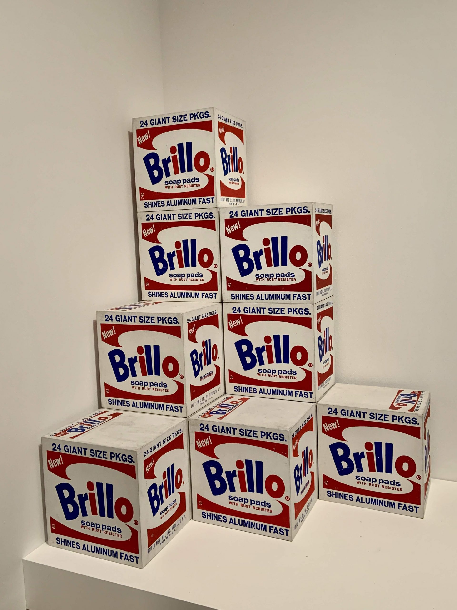 Andy Warhol - Brillo Box (Soap Pads) 1964