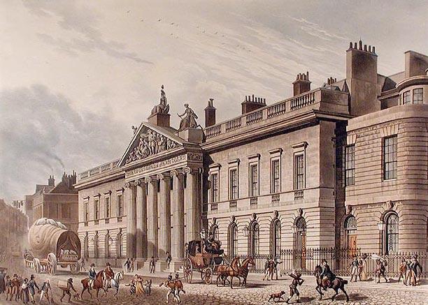 East India House, 1817