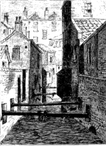 The Fleet Ditch in 1844