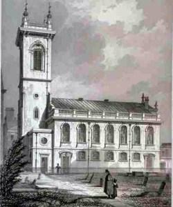 St Andrew Holborn, 1838