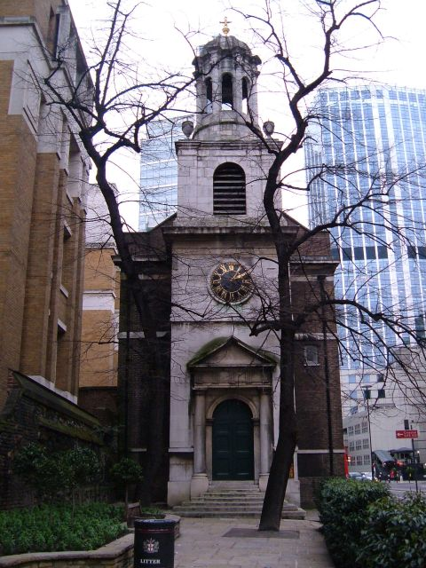 All Hallows on the Wall in London Wall Street