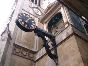 St Dunstan's in the West and the clock