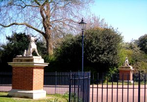 The Dogs of Alcibiades, just inside the Bonner Gate