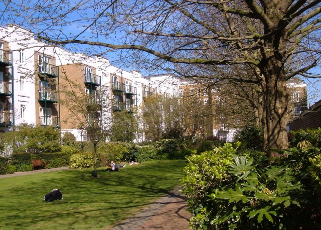 Priory House Gardens, just a few minutes walk away from Liverpool Street Station