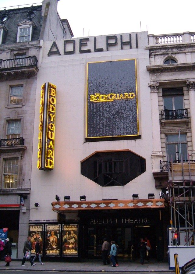 The current Adelphi Theatre