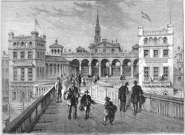 Hungerford Market in 1850