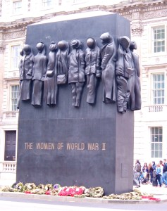 The National Monument to the Women of WWII in Whitehall
