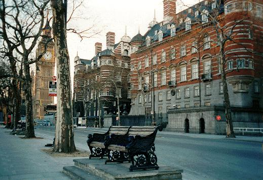New Scotland Yard buildings, 1890, now called the Norman Shaw Buildings