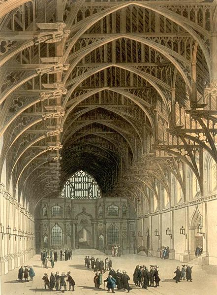 Westminster Hall, early 19th century