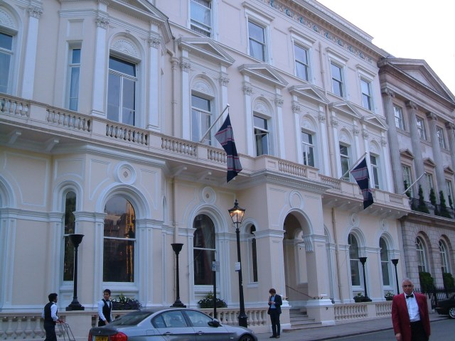 Nos.17 & 16 St James' Square, The East India Club
