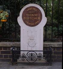 St James Square, Yvonne Fletcher memorial