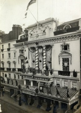 The facade of St James's Theatre, King Street (unknown date)