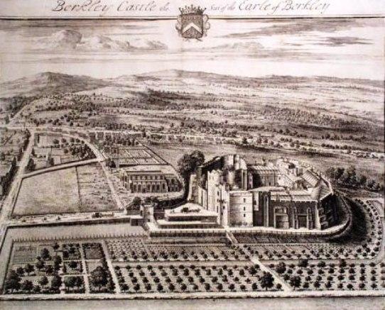 Berkeley Castle, 1712, by Jan Kip