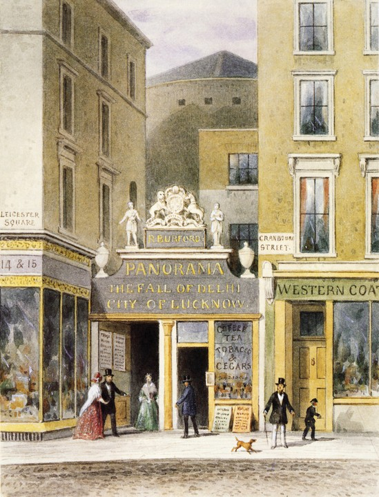 Burford's Panorama, Leicester Square