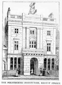 Polytechnic Institution, Regent Street, 1838
