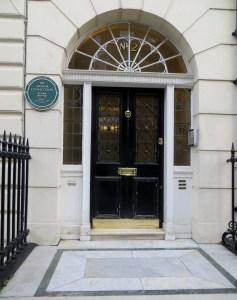 Sir Arthur Conan Doyle lived at no.2 Devonshire Place