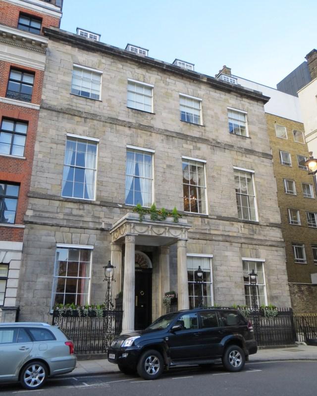 Chandos House, in Queen Anne Street