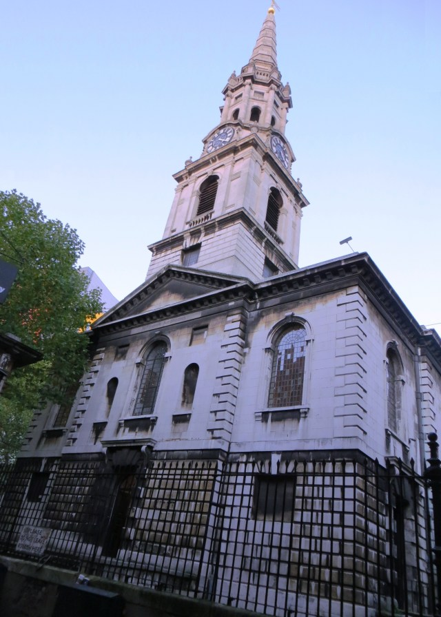 St Giles-in-the-Fields, the west front