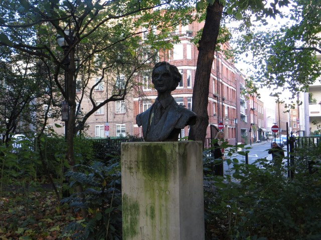 Bertrand Russell in Red Lion Square