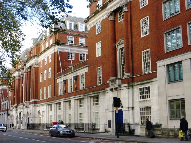 British Medical Association on the east side of Tavistock Square