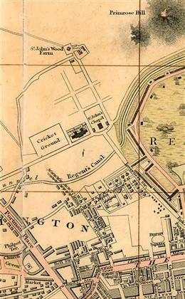 St John's Wood Farm in 1804