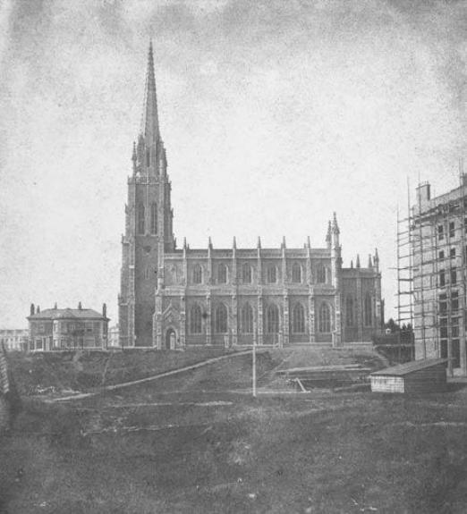 Holy Trinity Church, Bishops Bridge Road; photograph b y William Fox Talbot