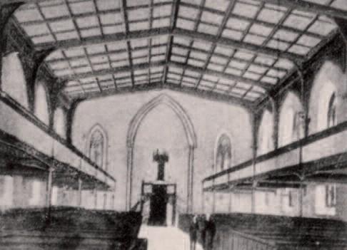 Regent Square Church, interior