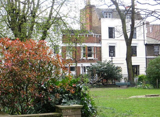 Houses at Barnsbury Square