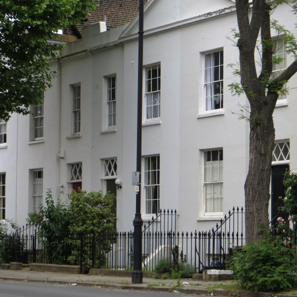 Villas in Hemingford Road, 1840s