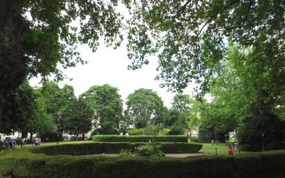Tredegar Square gardens