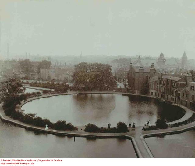 New River Head, 1910, from the north (British History Online)