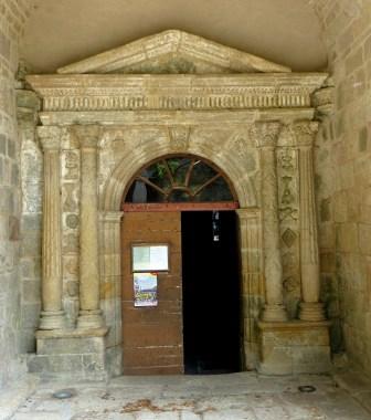 The Church of Saint Martin, Vitrac sur Montane