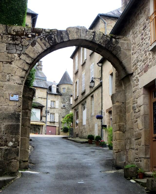 Chabirande Gate, Treignac