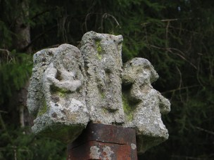 Wayside cross at Cayre