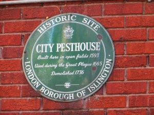 Site of the City Pest House in Bath Street