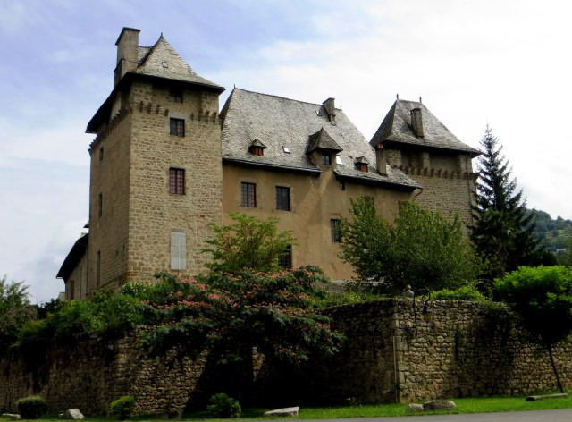 The castle in Entraygues