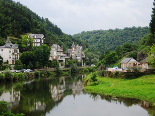 The Lot river at Estaing