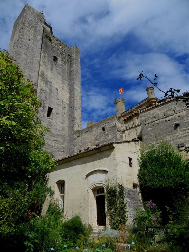 The Mediaeval garden in Raynon Castle