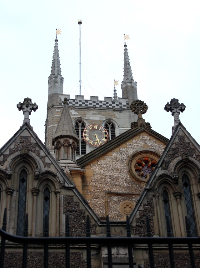 Southwark Cathedral from the east