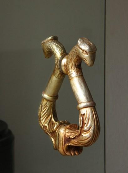Door handle in the Parador