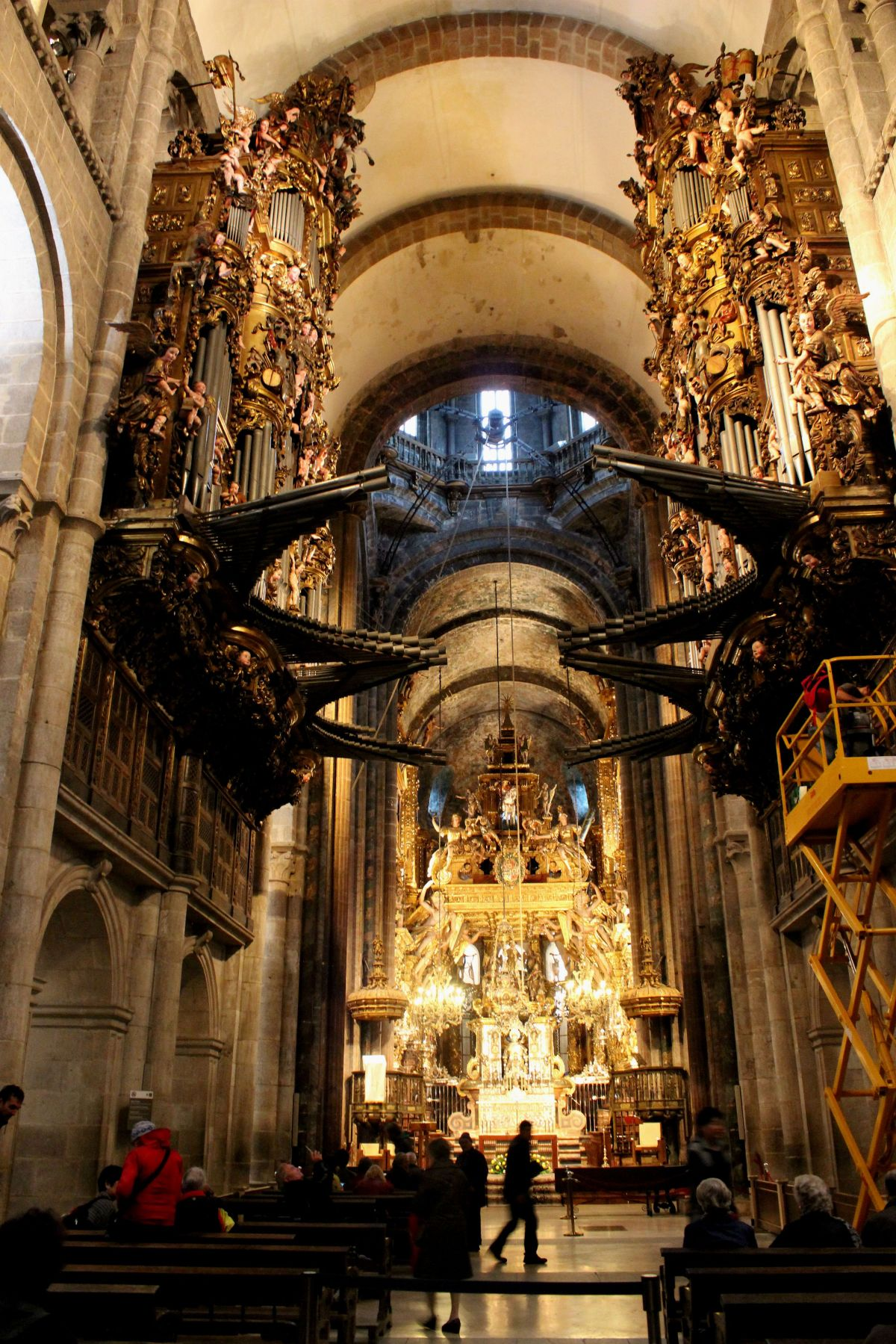 The Nave, Santiago Cathedral