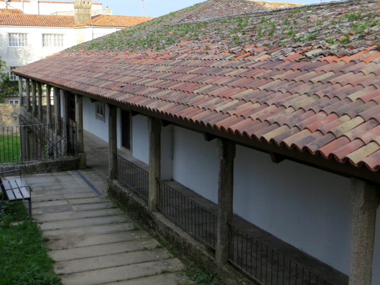 Sancti Spiritus Hospital (rear of the building)