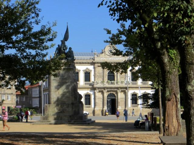 The Alamameda & Town Hall, Pontevedra