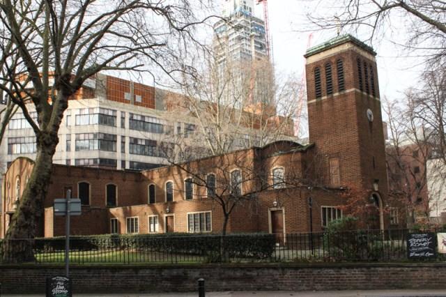 Christ Church, Southwark, Blackfriars Bridge Road