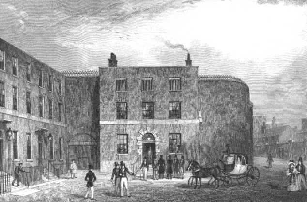 King's Bench Prison, 1830 (www.londonancestor.com)