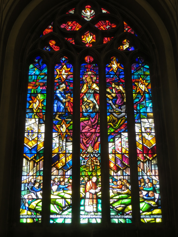 St George's Cathedral stained glass - Hardman?