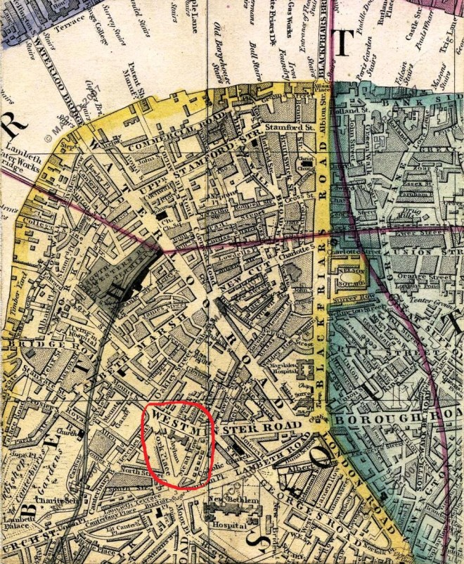 Cross's Map of London, 1861 (Mapco)