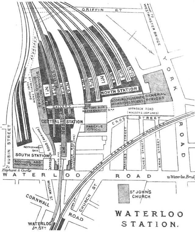 Waterloo Station, 1881