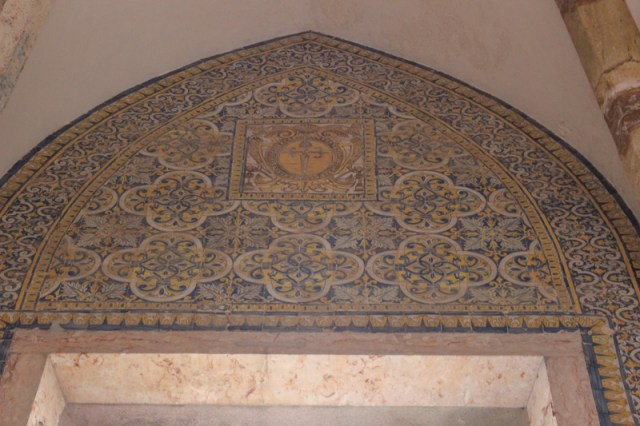 Tiling with the Sword of St James