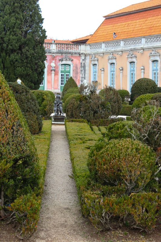 The gardens, Royal Palace, Queluz